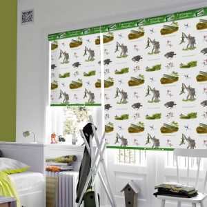 Enormous Crocodile roller blind