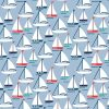 Boats childrens blackout Roller Blinds Pattern