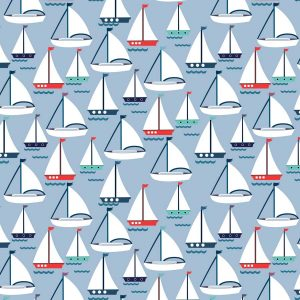 Boats Roller Blinds Pattern