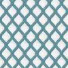 Criss Cross Teal Pattern Roman Blind