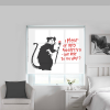 banksy roller blinds