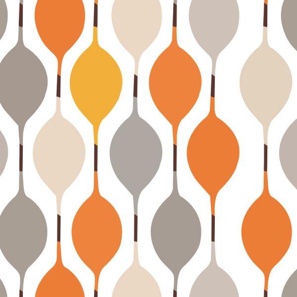 BeeHouse-Tangerine-Roller-Blind