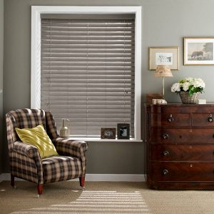 Ash Faux Wood Blind