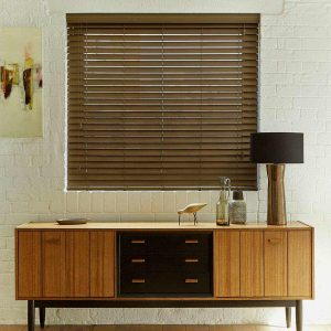 Walnut Faux Wood Blind