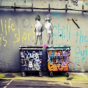 Banksy-Life-is-short-Roller-Blind1